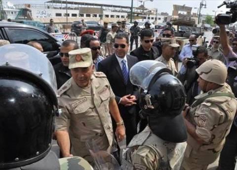 رئيس الأركان يتفقد لجان أسيوط.. ويؤكد: 185 ألف جندي يشاركون في التأمين