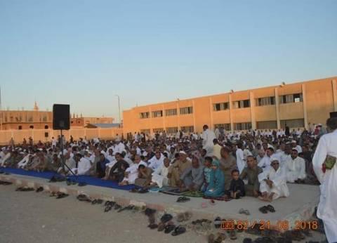 آلاف الأهالي بمدينة القصير يؤدون صلاة عيد الأضحى المبارك