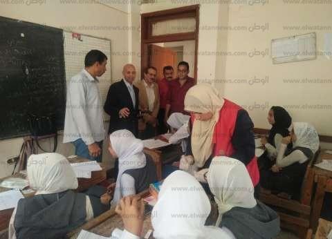 """وكيل """"صحة الشرقية"""" يتابع سير مبادرة القضاء على فيروس سي لطلبة المدارس"""