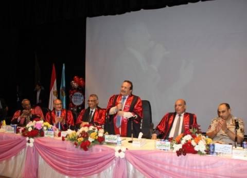 رئيس جامعة طنطا: تعيين الأول من أقسام التربية دفعة 2017