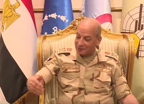 بالفيديو| تفاصيل لقاء وزير الدفاع مع قائد القيادة المركزية الأمريكية