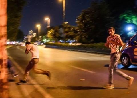بالفيديو| لحظة انفجار مبنى البرلمان التركي