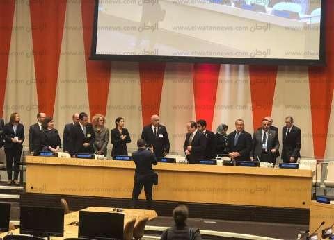 السيسي يغادر مقر الأمم المتحدة إلى المطار للعودة إلى القاهرة