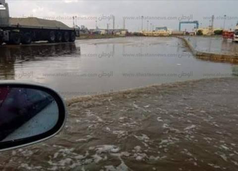 """مياه الأمطار تغلق نفقي """"المندرة"""" و""""كليوباترا"""" في الإسكندرية"""