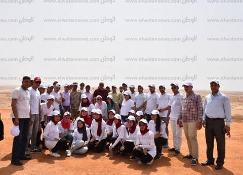 وفد جامعة مدينة السادات يزور العاصمة الإدارية الجديدة