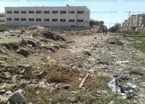 «كفر الدوار»: «الزبالة» تحاصر مجمع «الابتدائى».. وتهدد التلاميذ منذ 3 سنوات