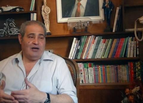 """نبيل فاروق عن وفاة أحمد توفيق: """"اتقسمت نصين"""".. و""""الشروق"""": خسارة فادحة"""