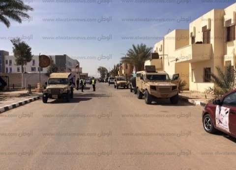 إجراءات أمنية بلجان العياط وأطفيح تزامنا مع ثالث أيام الانتخابات