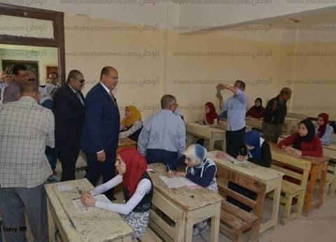 """1500 طالب بالثانوية يؤدون امتحان """"الرياضة البحتة """"بأسيوط"""