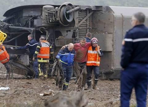 عاجل|  خروج قطار سريع عن مساره شرقي فرنسا وسقوط 5 قتلى