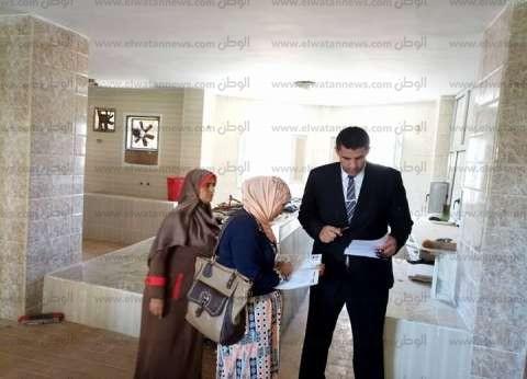 بالصور| «الرقابة الإدارية» بكفر الشيخ ترصد مخالفات في المدينة الجامعية