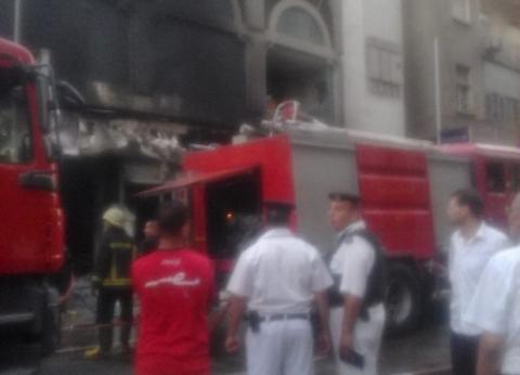 السيطرة على حريق شب في شقة بالوراق دون خسائر