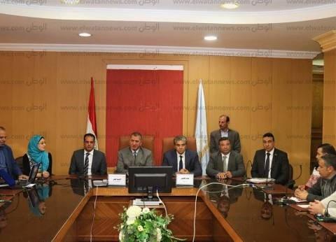 وزير البيئة ومحافظ كفر الشيخ يناقشان منظومة إدارة المخلفات الصلبة