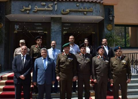 بروتوكول تعاون بين جامعة بنها وأكاديمية ناصر العسكرية لتأهيل القيادات