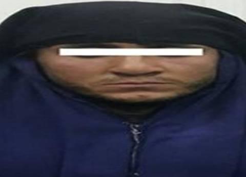 ضبط متسول يتخفى في النقاب للهروب من 13 حكما قضائيا