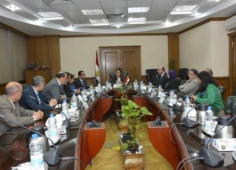 وزيرة التخطيط توافق على طلب نائب برصف ثلاث طرق في دمياط