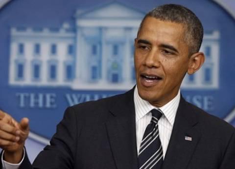 أوباما يبحث مع فريقه للأمن القومي تطورات هجمات باريس