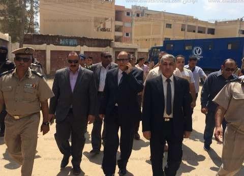 بالصور| مساعدا وزير الداخلية يتفقدان لجان امتحانات الثانوية بكفر الشيخ