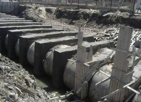 """""""الري"""": إحلال وتجديد شبكات الصرف المغطي لـ1750 فدانا"""