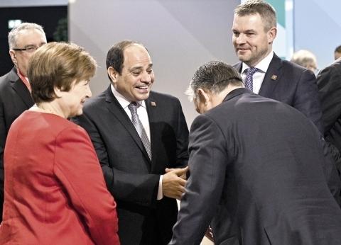 «السيسى» لمستثمرى النمسا: مصر توفر فرصاً كثيرة فى ظل حالة الأمن والاستقرار