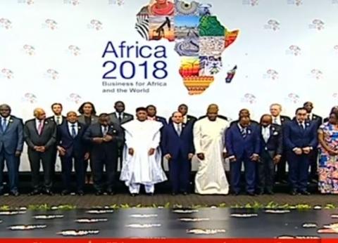 """تفاصيل الجلسة الافتتاحية لـ""""مؤتمر إفريقيا 2018"""""""