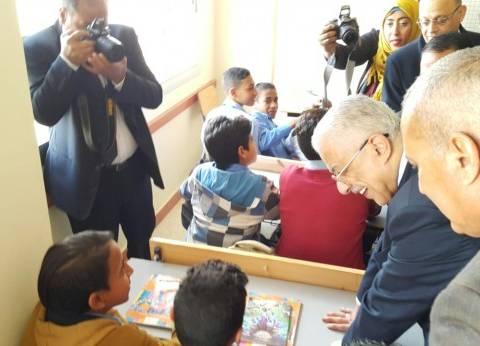 وزير التعليم يفتتح مدرسة الشهيد سمير الجمل بالسويس