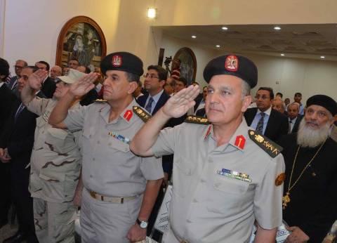 محافظ المنيا: نشكر القوات المسلحة التي تبني دولة حديثة