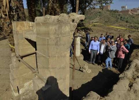 وزير الآثار: 2017 عاما مذهلا.. ونختمه بالكشف عن مقبرتين في الأقصر