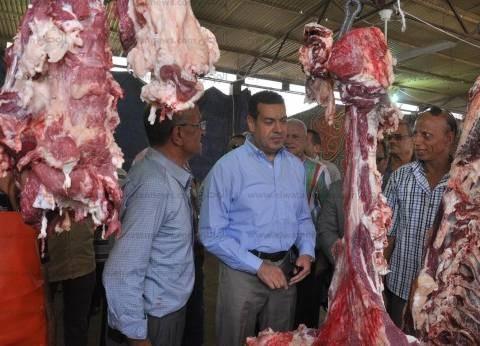 بالصور| طرح 1000 رأس ماشية من اللحوم المبردة بأسيوط خلال شهر رمضان
