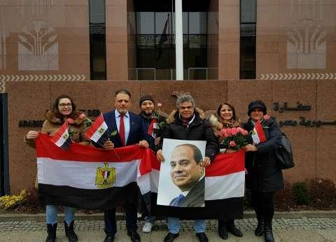 انتهاء التصويت في اليوم الأول للانتخابات الرئاسية المصرية في برلين