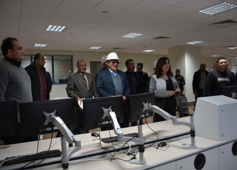 محافظ دمياط تفتتح المبنى الإداري لمحطة توليد كهرباء غرب