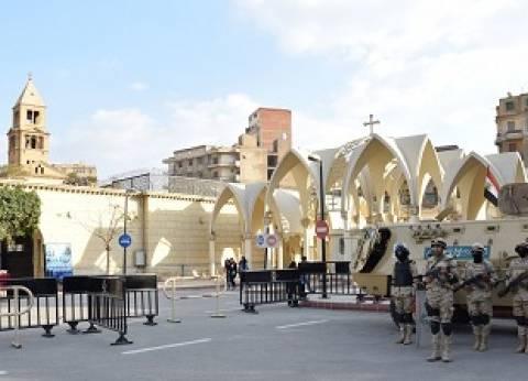 «الجيش والداخلية» يشددان الإجراءات الأمنية حول الكنائس بعد الهجوم