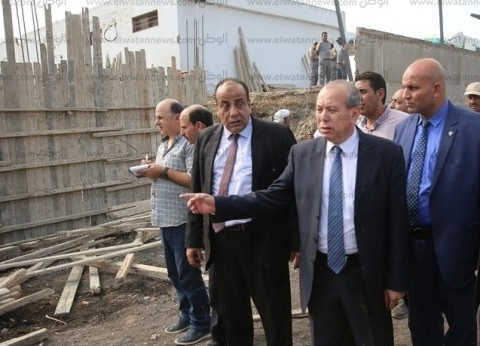 قطع المرافق عن غير الملتزمين بتقنين أراضي أملاك الدولة في كفر الشيخ