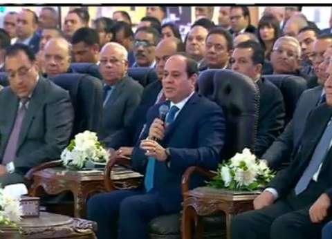 """السيسي لـ""""السودانيين"""": مصر لا تتآمر على حد.. ولا تملك وقتا للخلافات"""