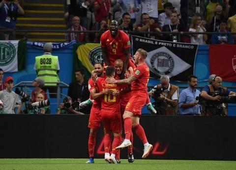 بالفيديو  الشوط الأول.. بلجيكا تصعق البرازيل وتقترب من قبل النهائي