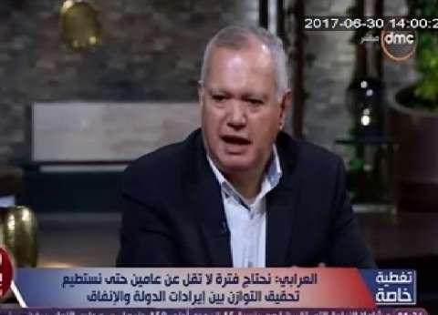 العرابي: الولايات المتحدة دعمت الإخوان لتفتيت العرب