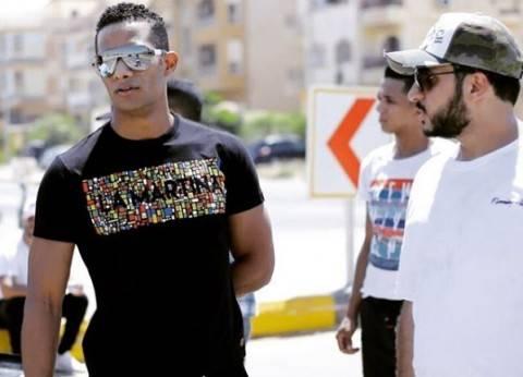 """محمد رمضان يشكر كريم السبكي بعد مشاهدة """"الديزل"""" بالسينمات"""
