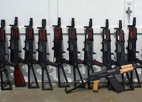 ضبط 7 متهمين بحوزتهم أسلحة نارية بالفيوم