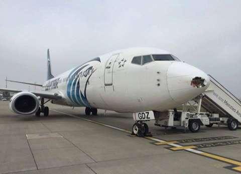 """""""مصر للطيران"""": توفير إقامة بالفنادق القريبة من المطار لركاب الطائرة المختطفة"""