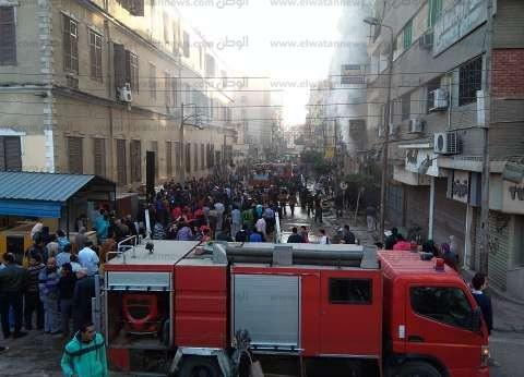 السيطرة على حريق بـ3 محلات ومخزنين بجوار مديرية أمن الشرقية