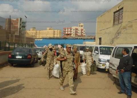 انتشار 160 ألفا من رجال القوات المسلحة لتأمين المرحلة الثانية من الانتخابات