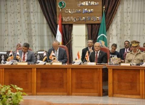 رئيس جامعة المنيا يشهد ورشة «مواجهة السيول»