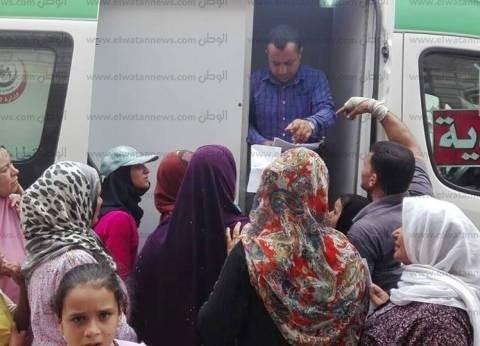تجهيز أكبر قافلة طبية في حي الجمرك بالإسكندرية عقب عيد الأضحى