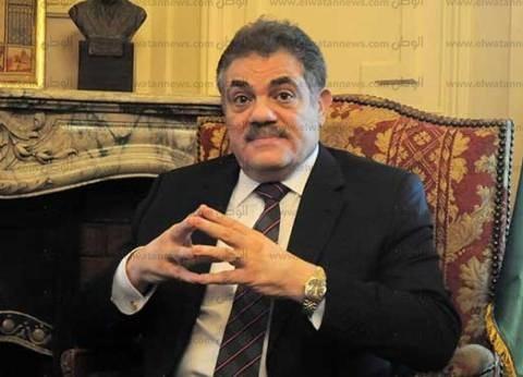 وصول السيد البدوي لحزب الوفد لحضور اجتماع الهيئة العليا للحزب