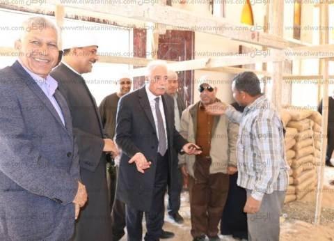 محافظ جنوب سيناء يتفقد مشروعات بتكلفة تتعدى مليار جنيه بمدينة الطور