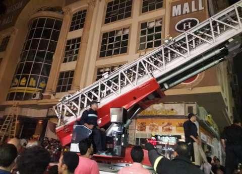 انتداب الأدلة الجنائية لمعاينة حريق شقة مدينة نصر