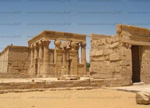 «الخارجة»: معبد «هيبس» شاهد على حكم الفراعنة والفرس والبطالمة والرومان