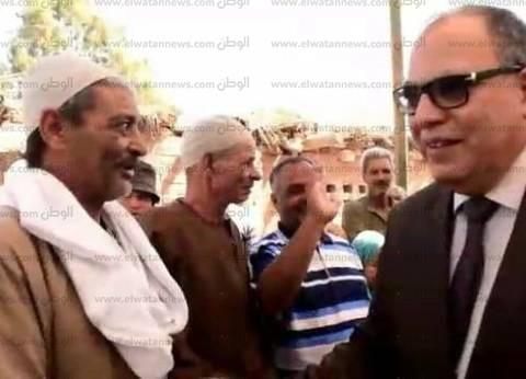 بالصور| مدير أمن كفر الشيخ يطمئن على تأمين لجان الانتخابات الرئاسية