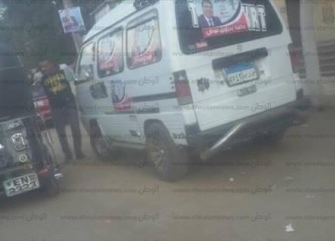 مرشحو السيدة زينب يستأجرون سيارات ميكروباص لحشد الناخبين