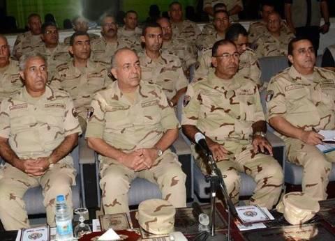 الفريق محمود حجازي يلتقى بأعضاء هيئة التدريس بكلية الطب للقوات المسلحة